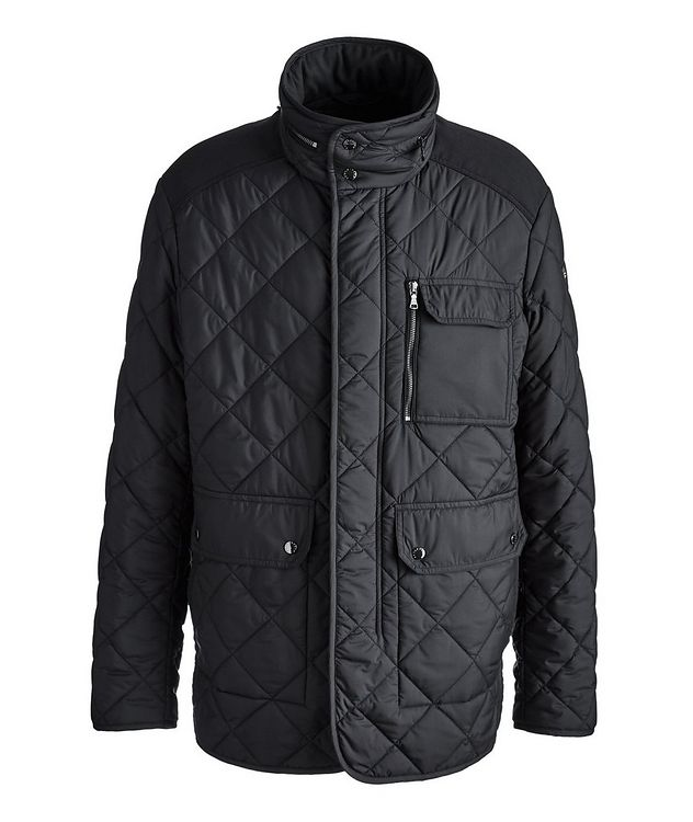 Technical Quilted Field Jacket picture 1
