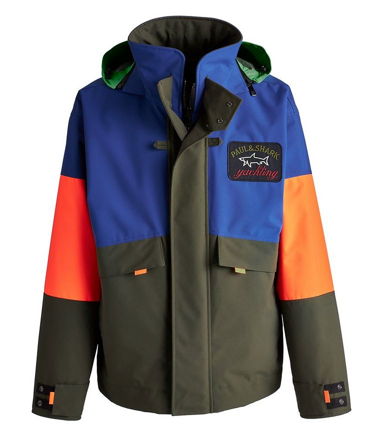 Typhoon 20000 Colour-Blocked Hooded Jacket image 0