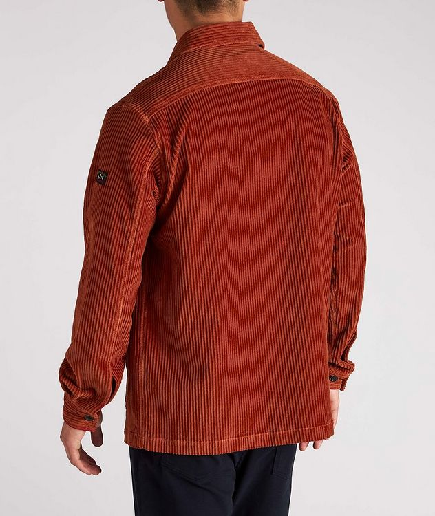 Corduroy Shirt Jacket picture 3