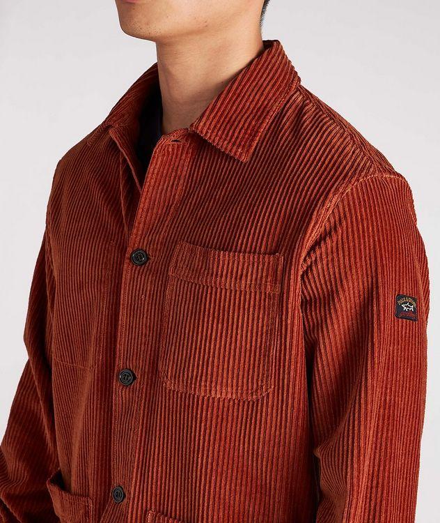 Corduroy Shirt Jacket picture 4