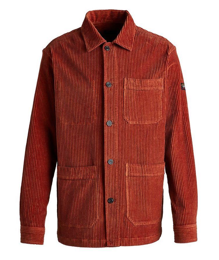 Corduroy Shirt Jacket image 0
