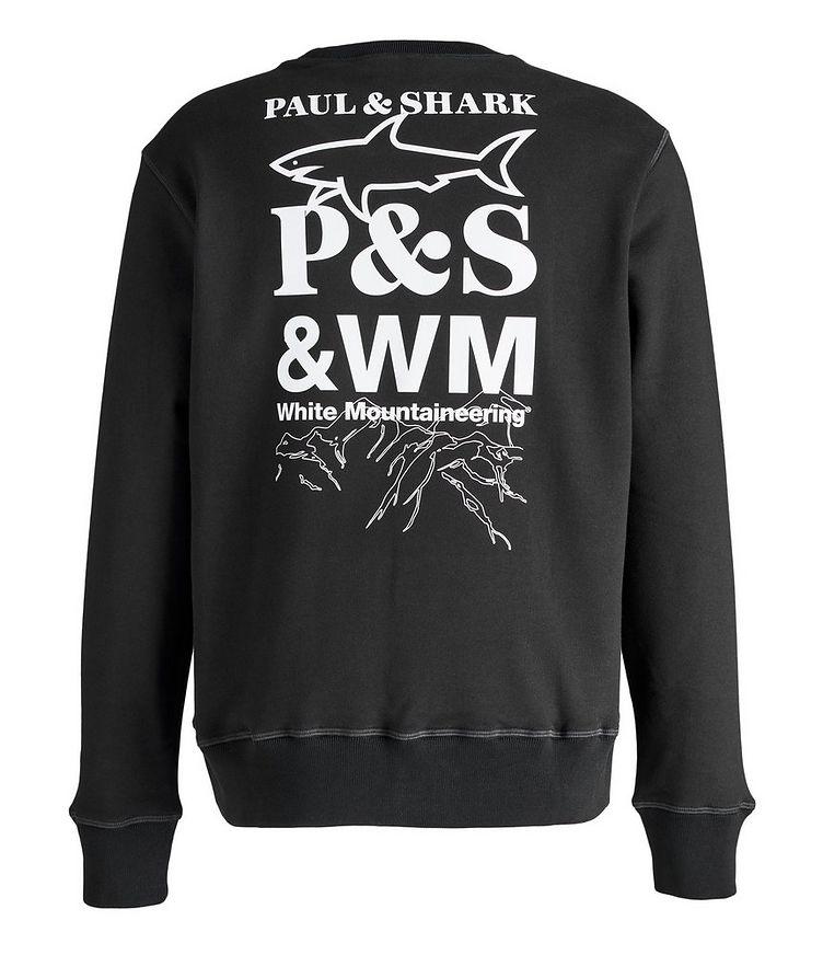 Printed Logo Cotton Sweatshirt  image 1