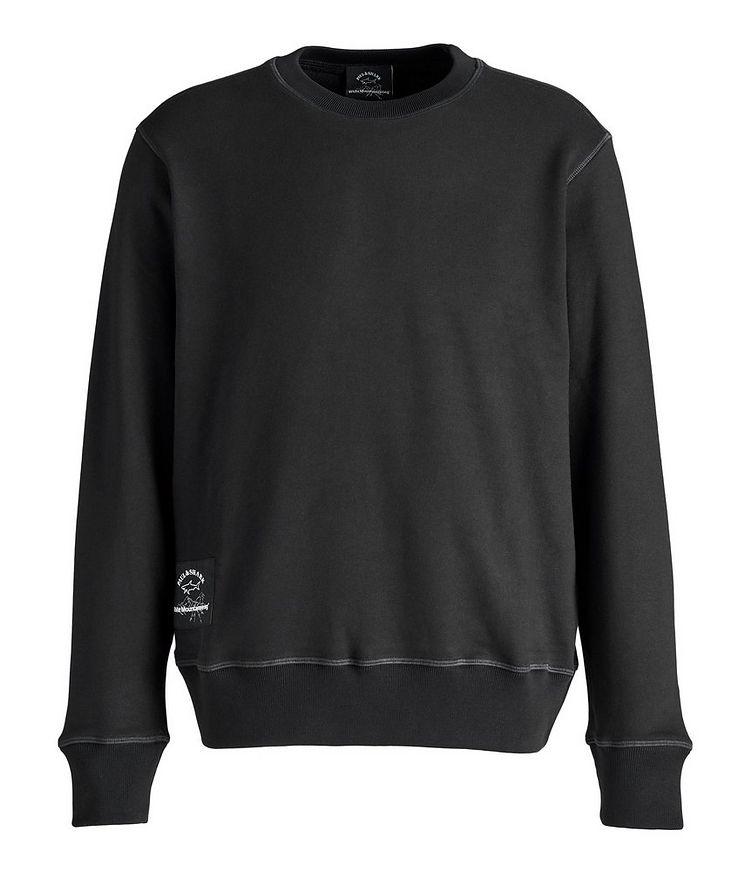 Printed Logo Cotton Sweatshirt  image 0