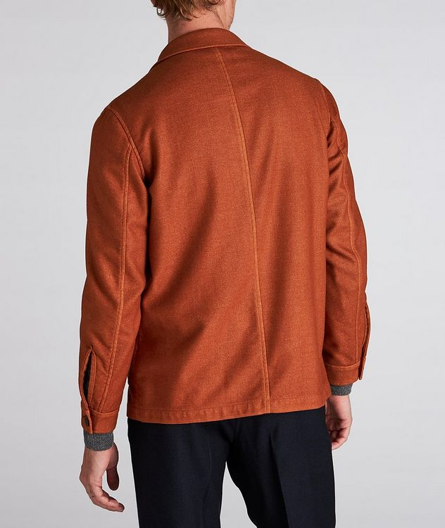 Wool-Blend Overshirt picture 3
