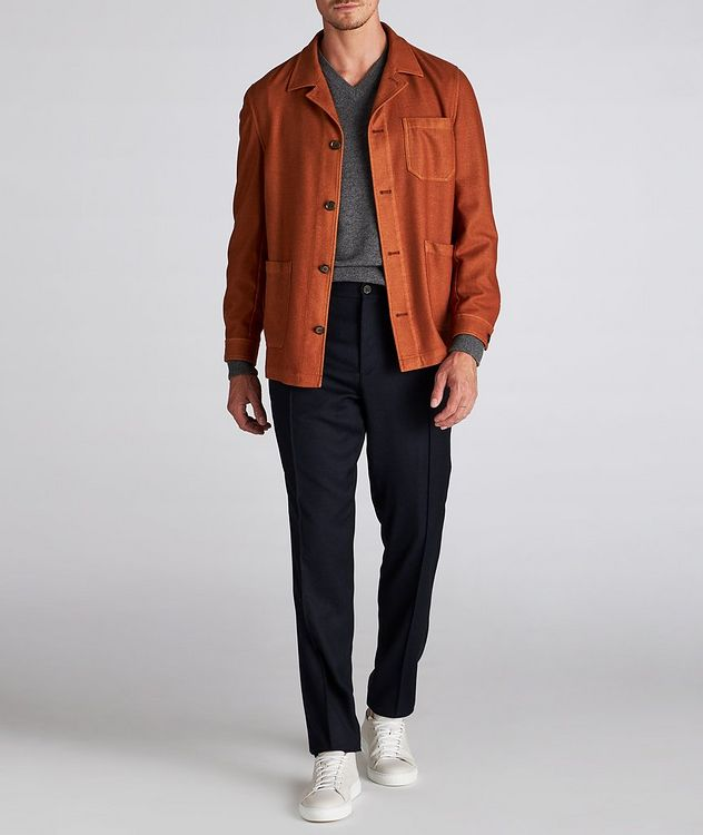 Wool-Blend Overshirt picture 5