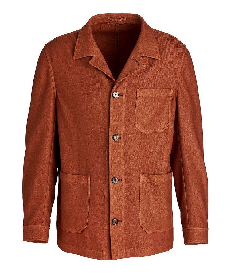 Wool-Blend Overshirt image 0