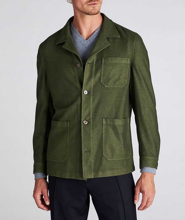 Wool-Blend Overshirt picture 2