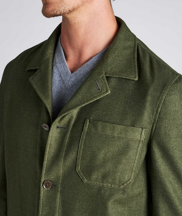 Wool-Blend Overshirt picture 4