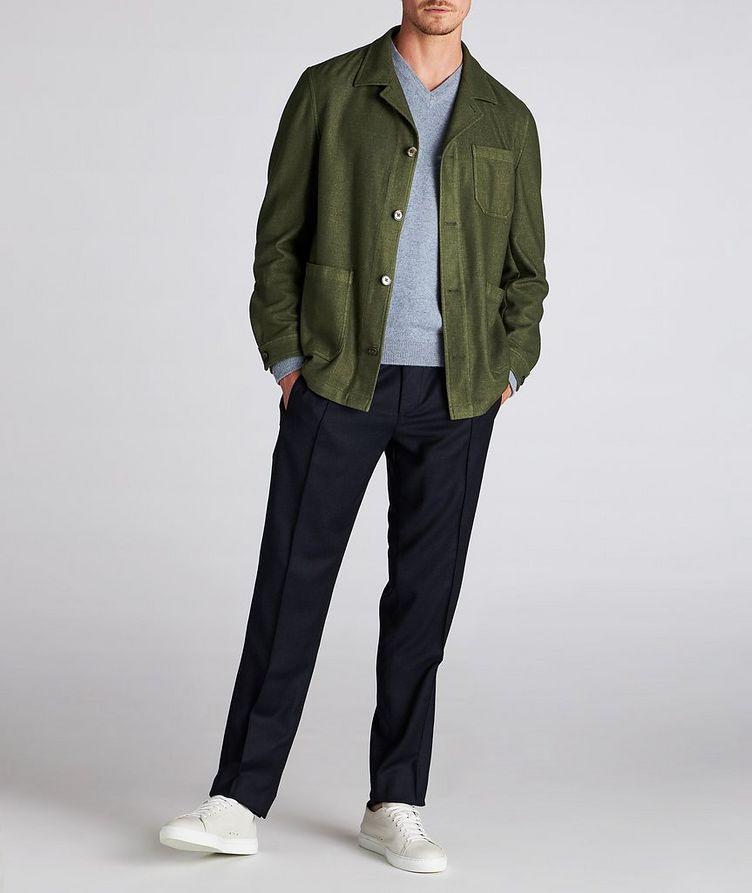Wool-Blend Overshirt image 4