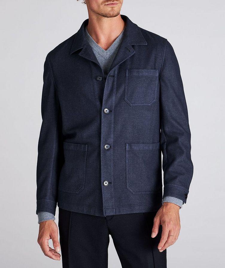 Wool-Blend Overshirt image 1
