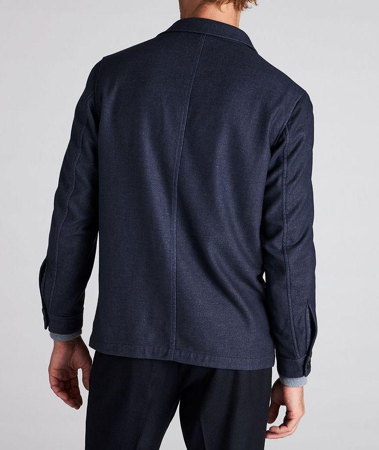 Wool-Blend Overshirt image 2
