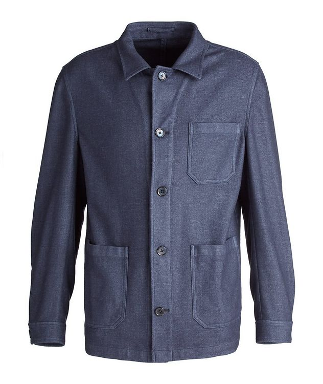 Wool-Blend Overshirt picture 1