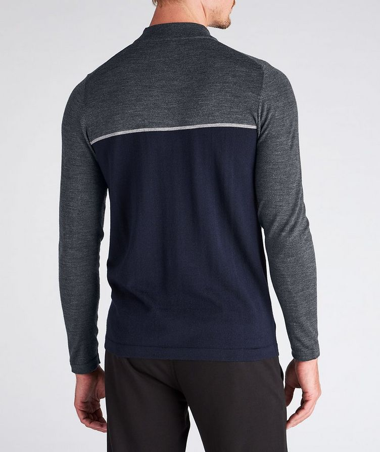 Merino Wool Mock Neck Sweater image 2