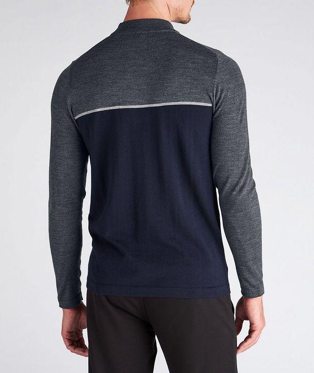 Merino Wool Mock Neck Sweater picture 3