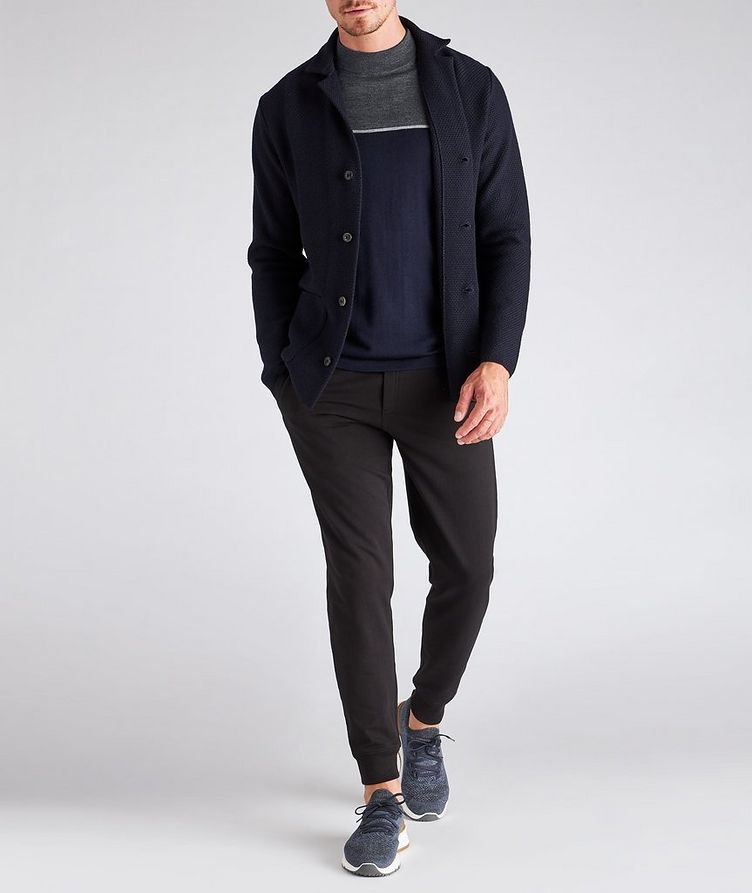 Merino Wool Mock Neck Sweater image 4