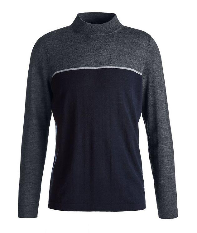 Merino Wool Mock Neck Sweater picture 1