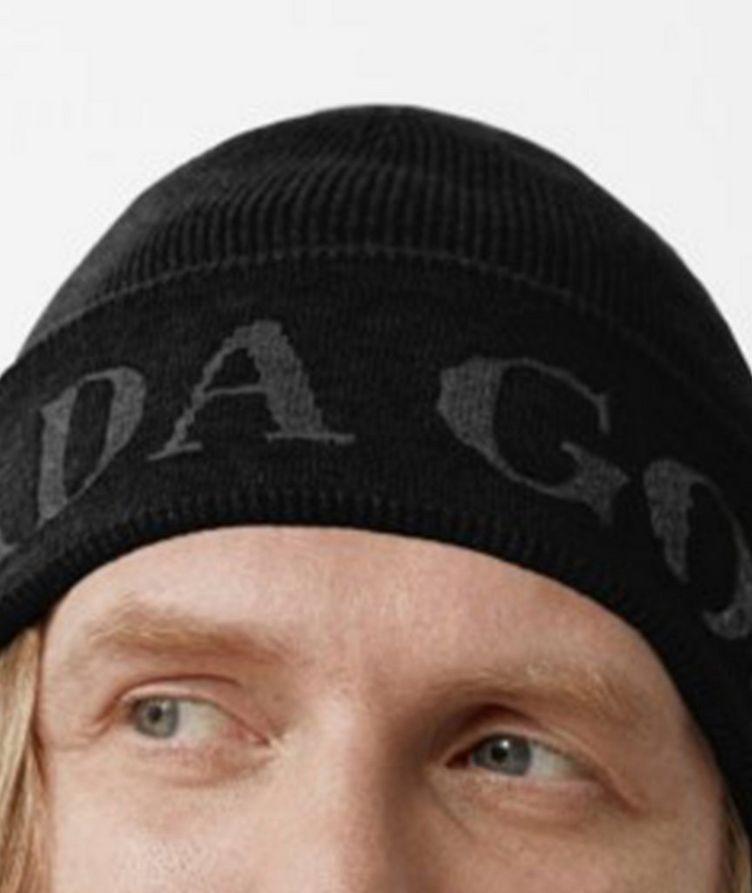 Jacquard Logo Wool Toque image 1