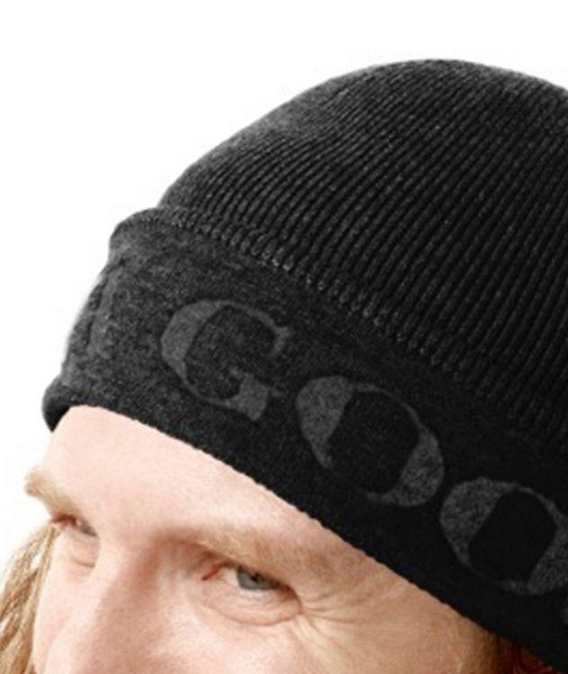 Jacquard Logo Wool Toque picture 3