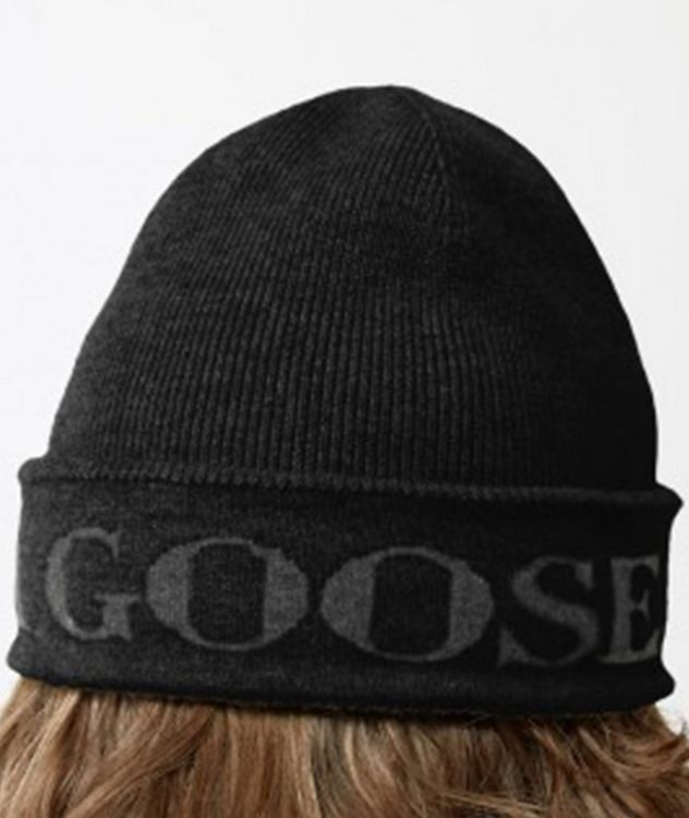 Jacquard Logo Wool Toque picture 4