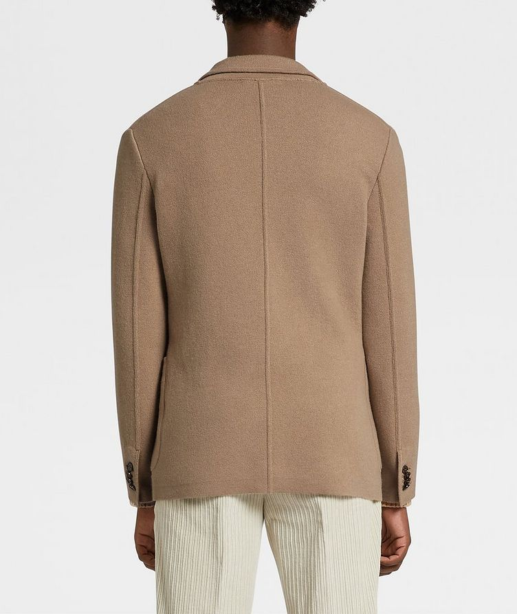 Unconstructed Wool and Cashmere Knit Jacket image 2