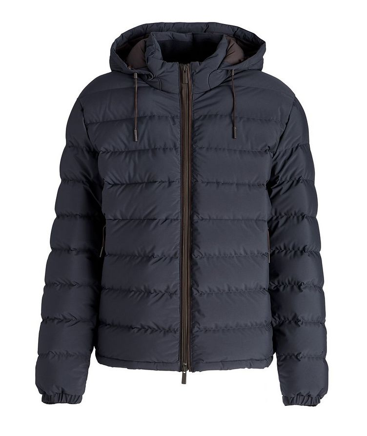 Stratos Quilted Down Blouson Jacket image 0