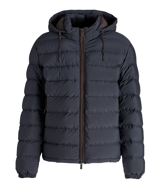 Stratos Quilted Down Blouson Jacket picture 1