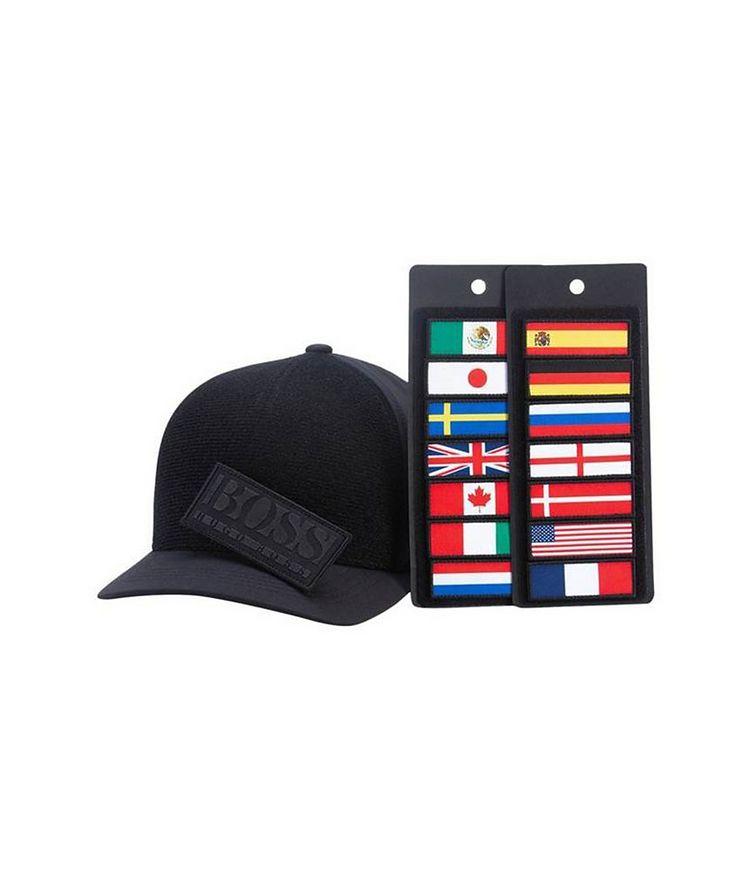 Badges Stretch Twill Cap image 0