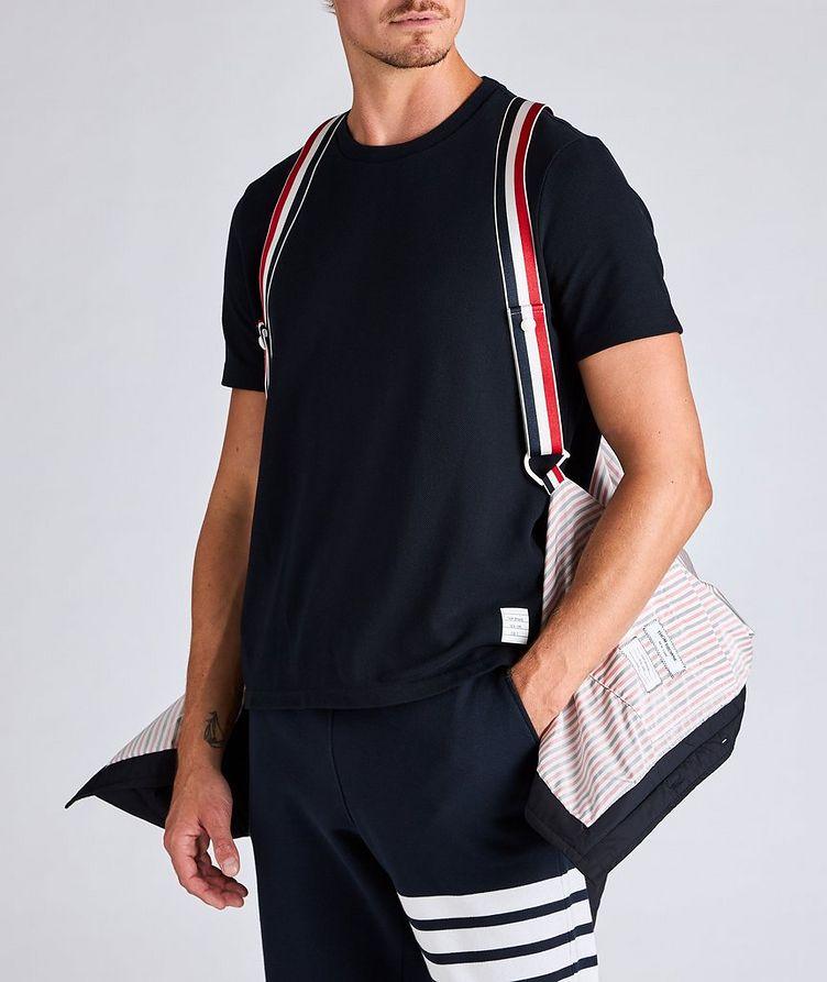 Four-Bar Stripe Down Shirt Jacket image 1