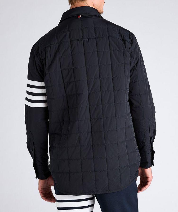 Four-Bar Stripe Down Shirt Jacket image 2