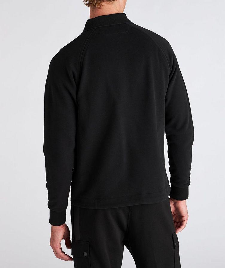 Recycled Cotton Polo Sweatshirt image 2