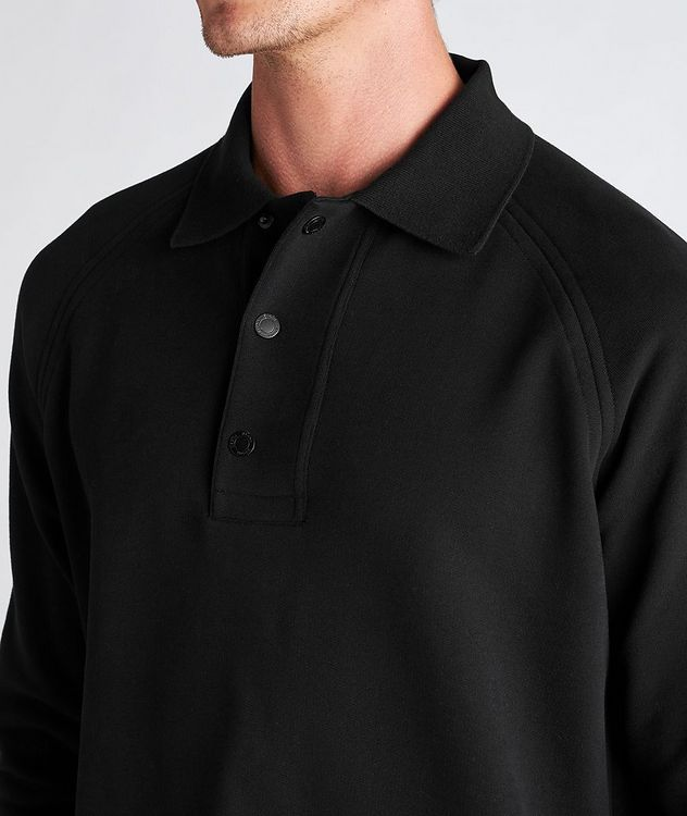 Recycled Cotton Polo Sweatshirt picture 4