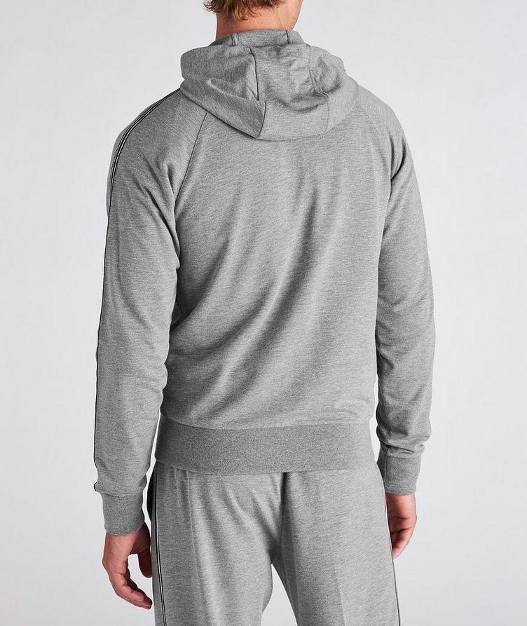 Zip-Up Stretch-Cotton-Blend Hoodie image 2