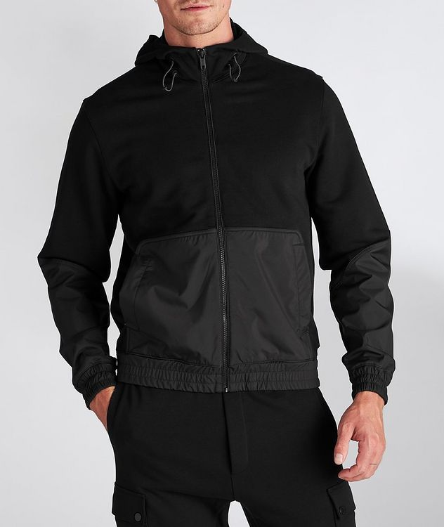 Cotton and Nylon Track Jacket picture 2