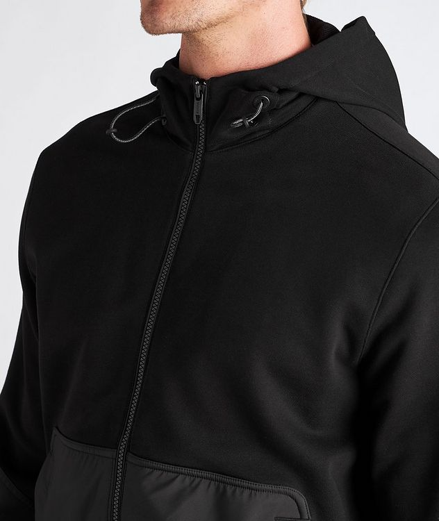 Cotton and Nylon Track Jacket picture 4