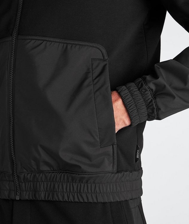 Cotton and Nylon Track Jacket picture 5