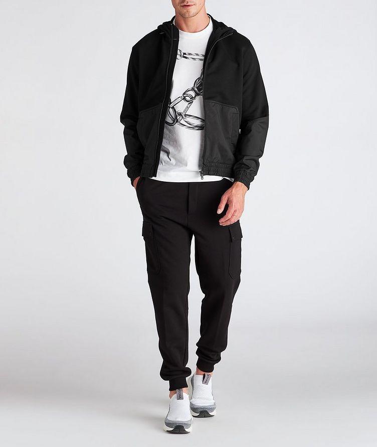Cotton and Nylon Track Jacket image 5