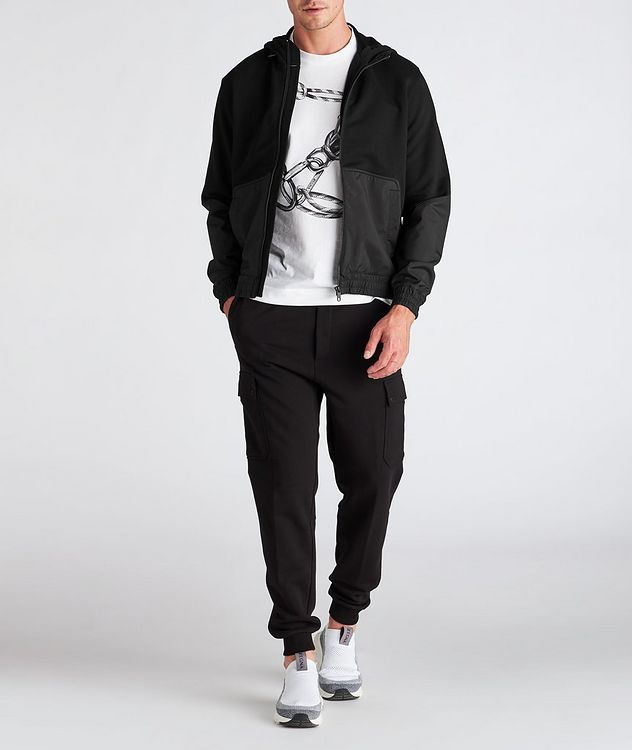 Cotton and Nylon Track Jacket picture 6