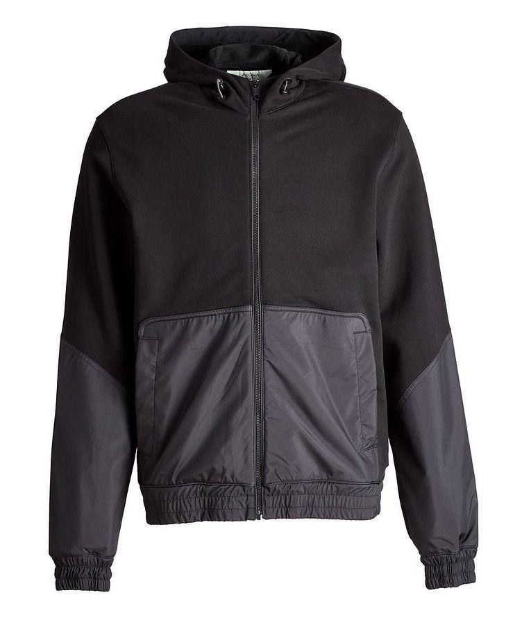Cotton and Nylon Track Jacket image 0