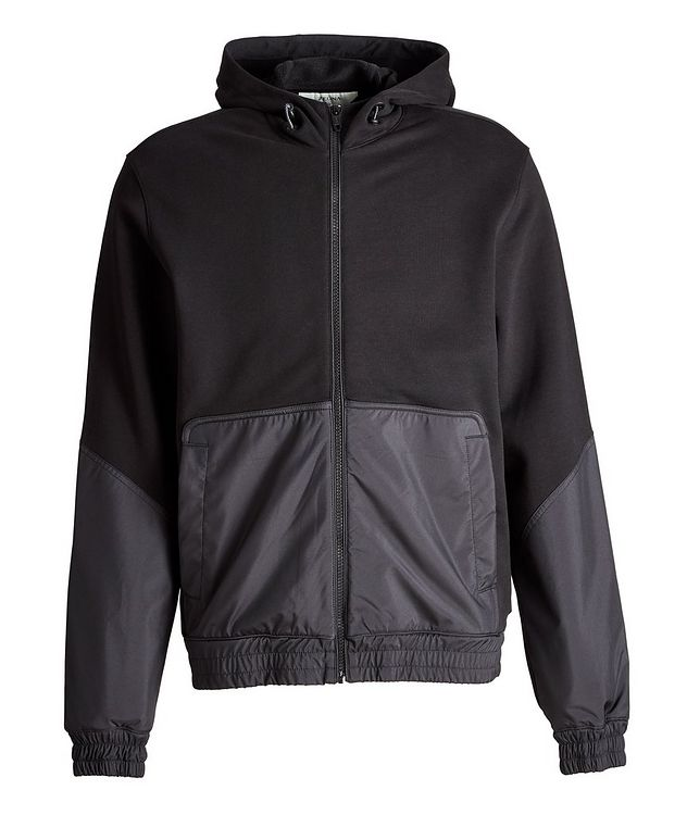 Cotton and Nylon Track Jacket picture 1