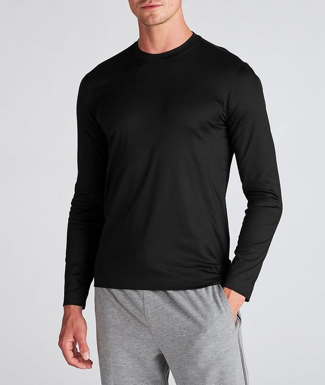 Long Sleeve Cotton T-Shirt picture 2