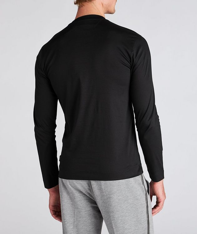 Long Sleeve Cotton T-Shirt picture 3