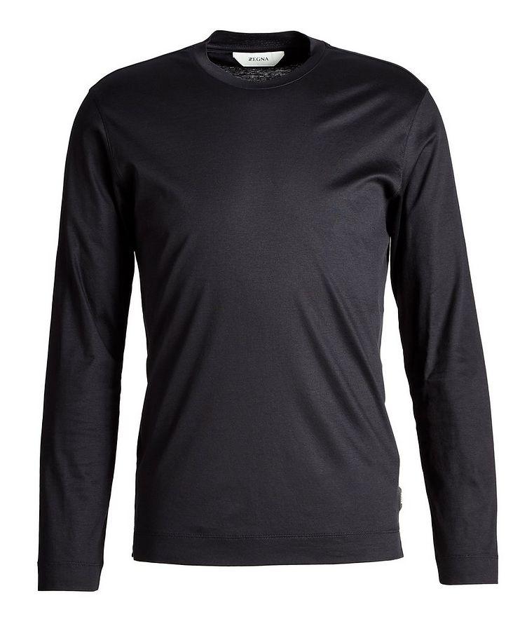 Long Sleeve Cotton T-Shirt image 0