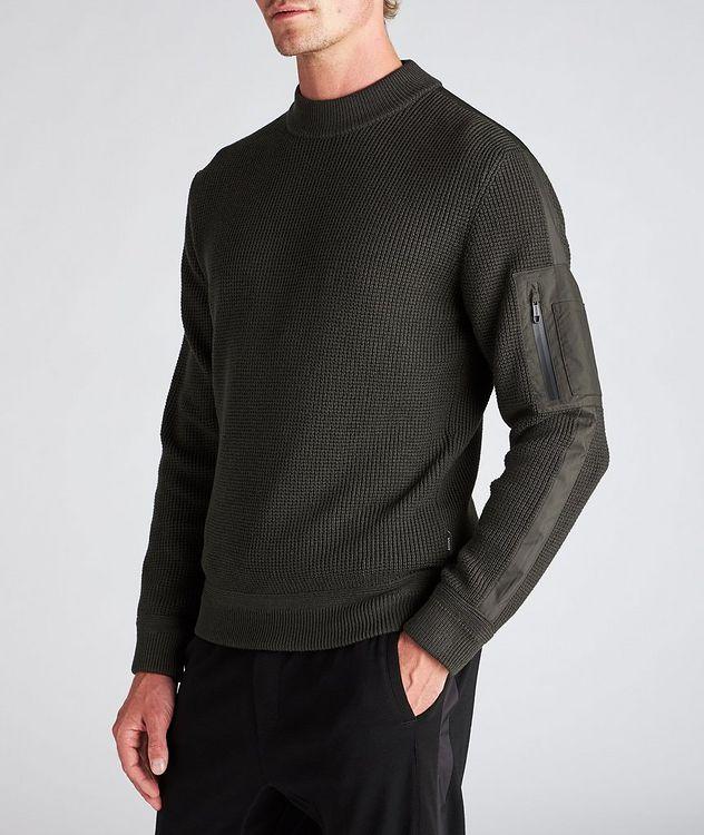 Techmerino Knit Wool Sweater picture 4