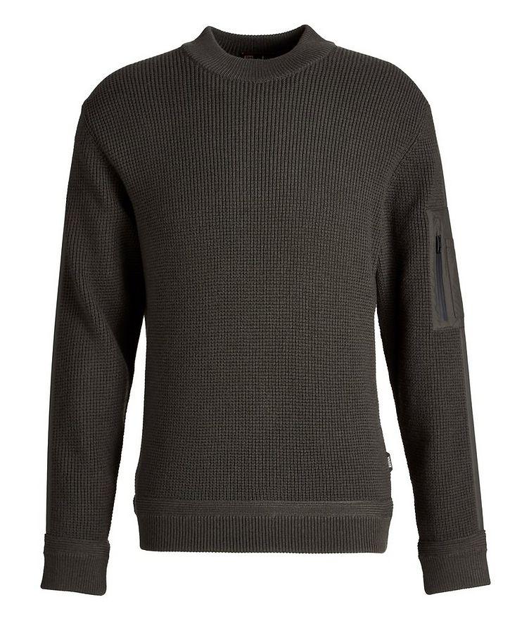 Techmerino Knit Wool Sweater image 0