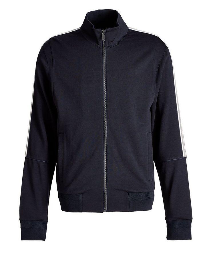 Techmerino Terry Wool Track Jacket image 0