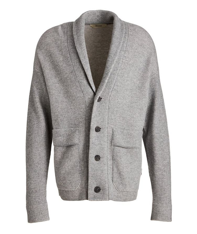 Recycled Wool-Cashmere-Blend Cardigan image 0