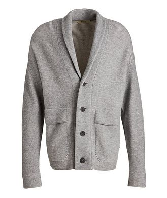 Z Zegna Recycled Wool-Cashmere-Blend Cardigan