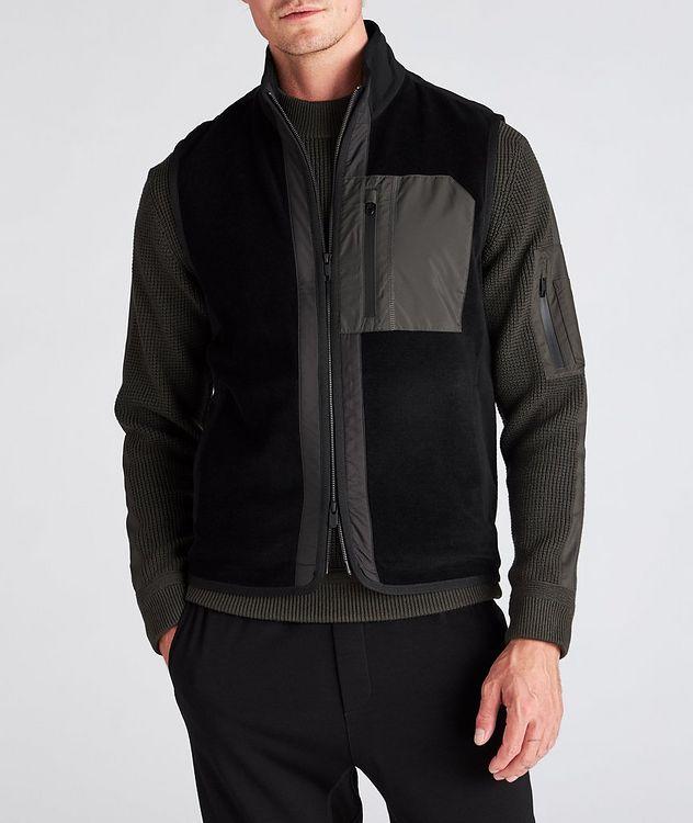 Techmerino Wool and Nylon Vest picture 2