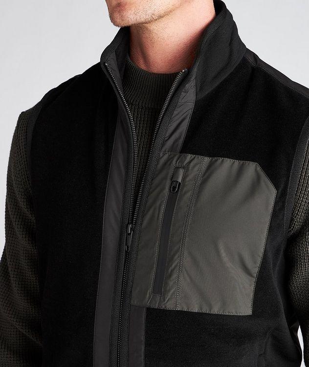 Techmerino Wool and Nylon Vest picture 4