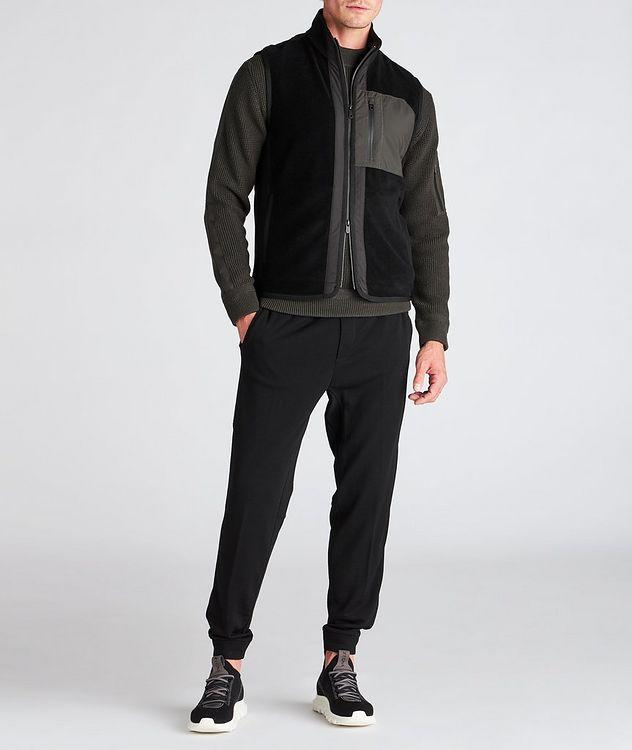 Techmerino Wool and Nylon Vest picture 6